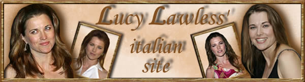 Lucy Lawless'italian site